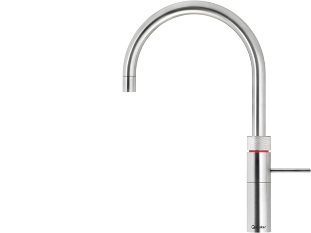 quooker pro 3 boiling hot water tap fusion round chrome. Black Bedroom Furniture Sets. Home Design Ideas