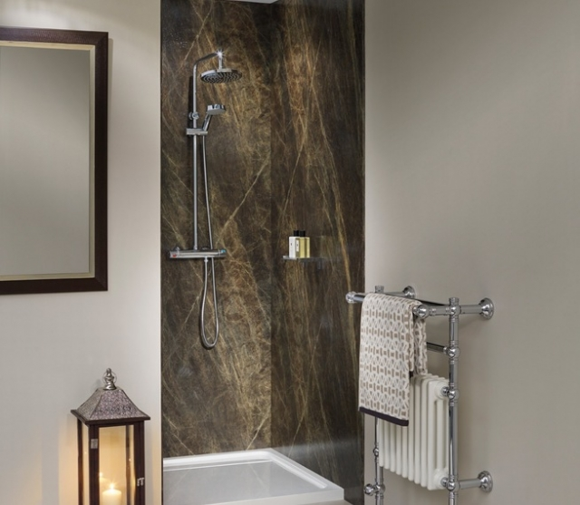 Nuance Shower Wall Panel 1200 Sequoia Slate | Brands of Watford
