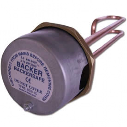 BACKERSAFE IMMERSION HEATER INCALOY 18in