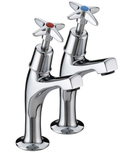 BRISTAN 5412 CROSS TOP SINK PILLARS CP