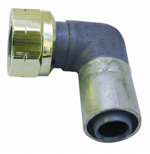 Buteline tap connector elbow in chrome brands of