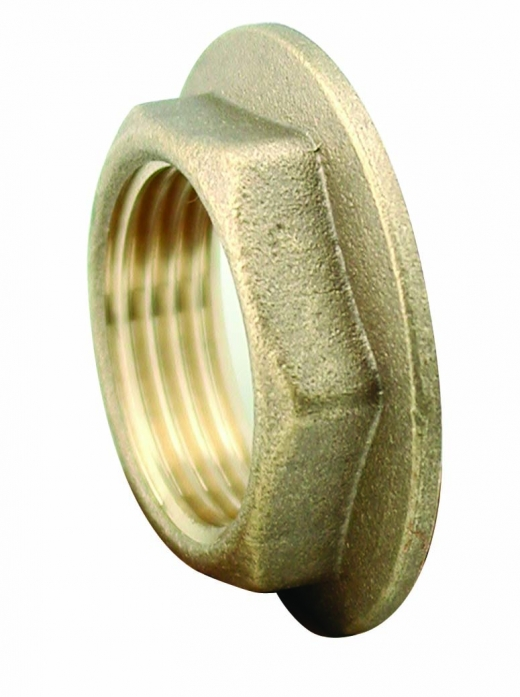 BRASS BACK NUT 3/4in